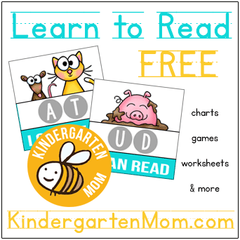 I Can Read…Free Printables