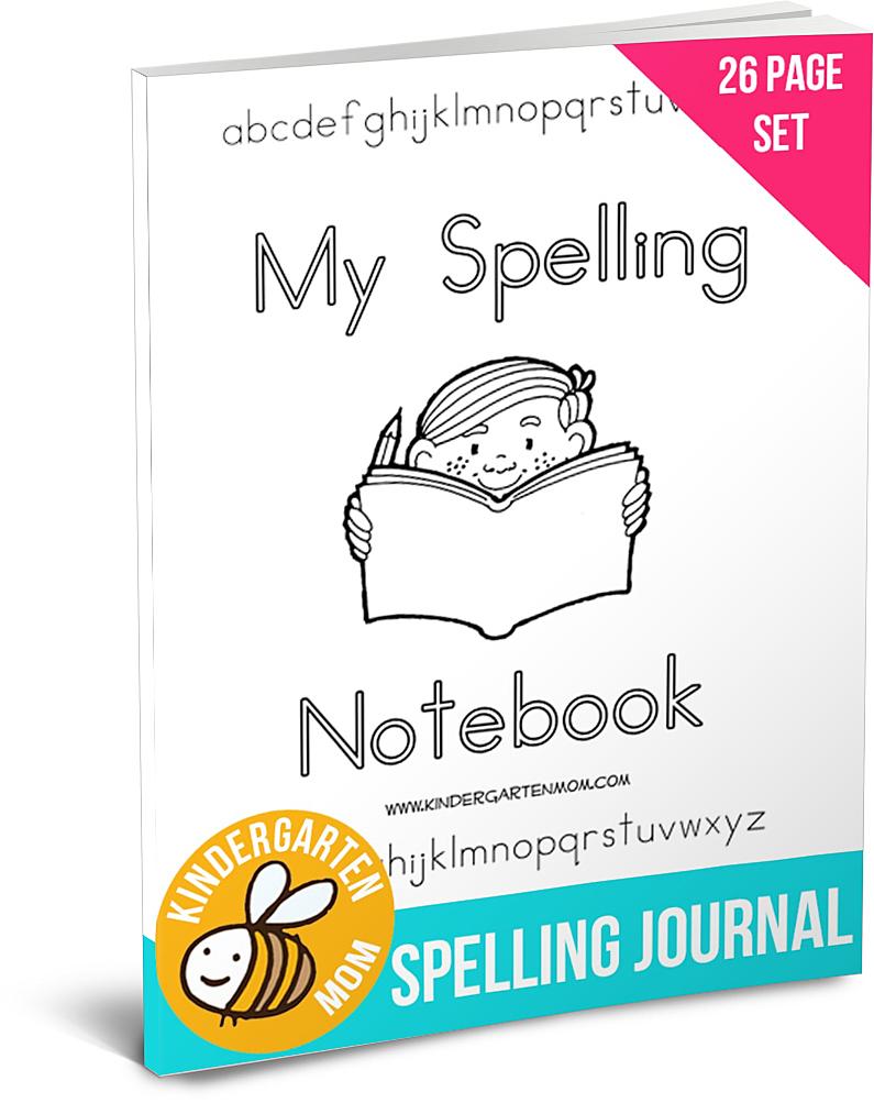 SpellingJournalPack