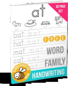 WordFamilyHandwritingeBook
