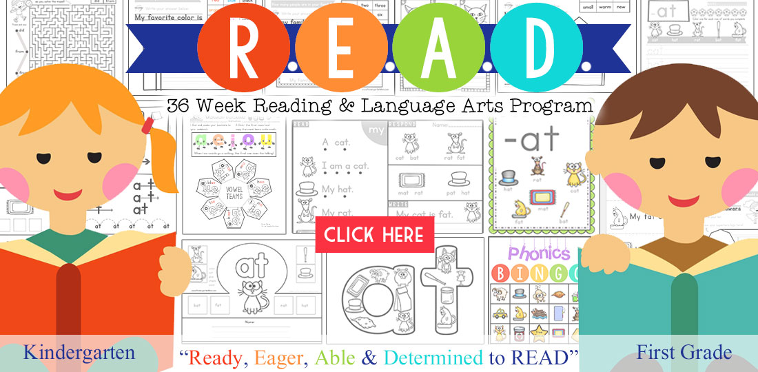 Learn to Read with Kindergarten Mom
