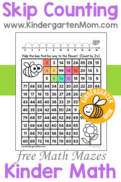 Kindergarten Math Printables - Kindergarten Mom