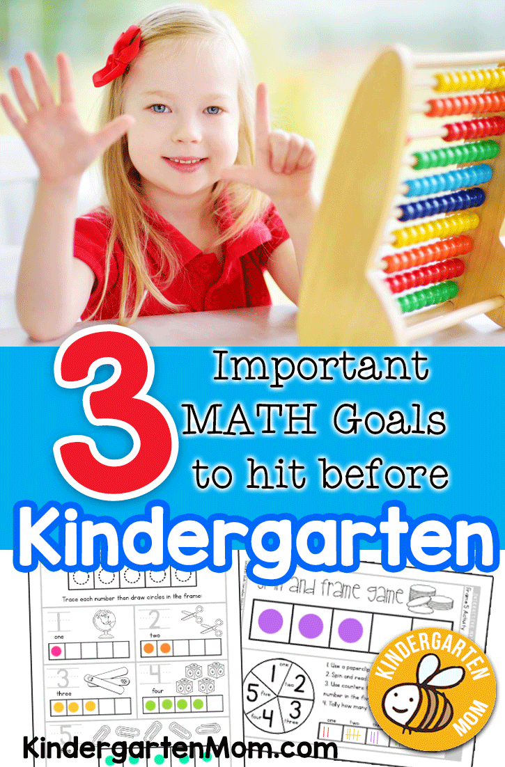 Preparing Your Child for Kindergarten Math