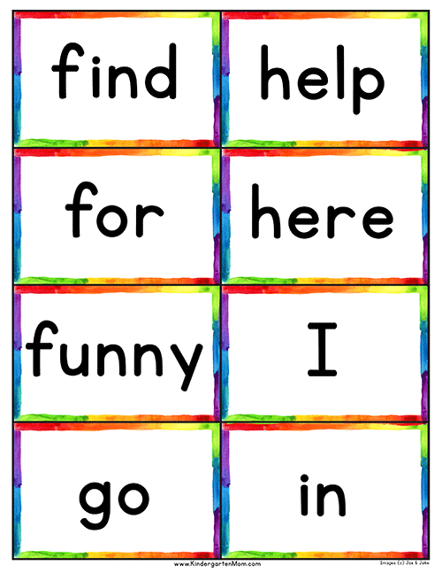 photo about Printable Sight Word Cards named Dolch 220 Sight Term Listing Flash Playing cards