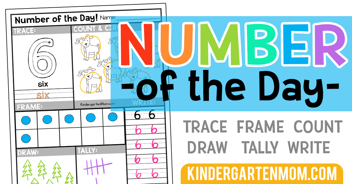 Free Number Of The Day Worksheets Kindergarten Mom. Covering Numbers 010 This Set Of Free Printable Kindergarten Math Worksheets Will Fit Perfectly In Your Classroom Each Day Students Trace Count Color. Kindergarten. Worksheet For The Kindergarten At Clickcart.co