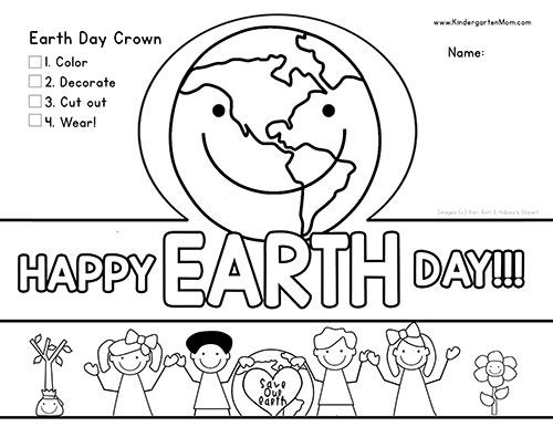 graphic about Printable Pictures of the Earth known as World Working day Printables - Kindergarten Mother