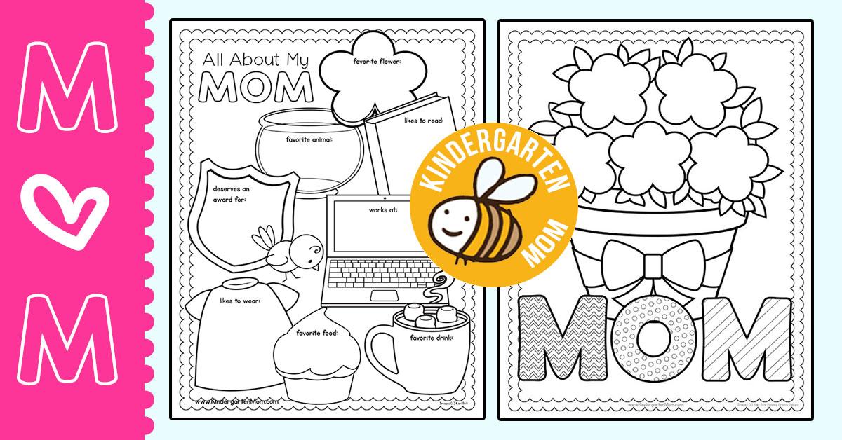Mother's Day Printables - Kindergarten Mom