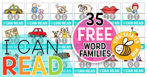 Learn to Read FREE with Kindergarten Mom