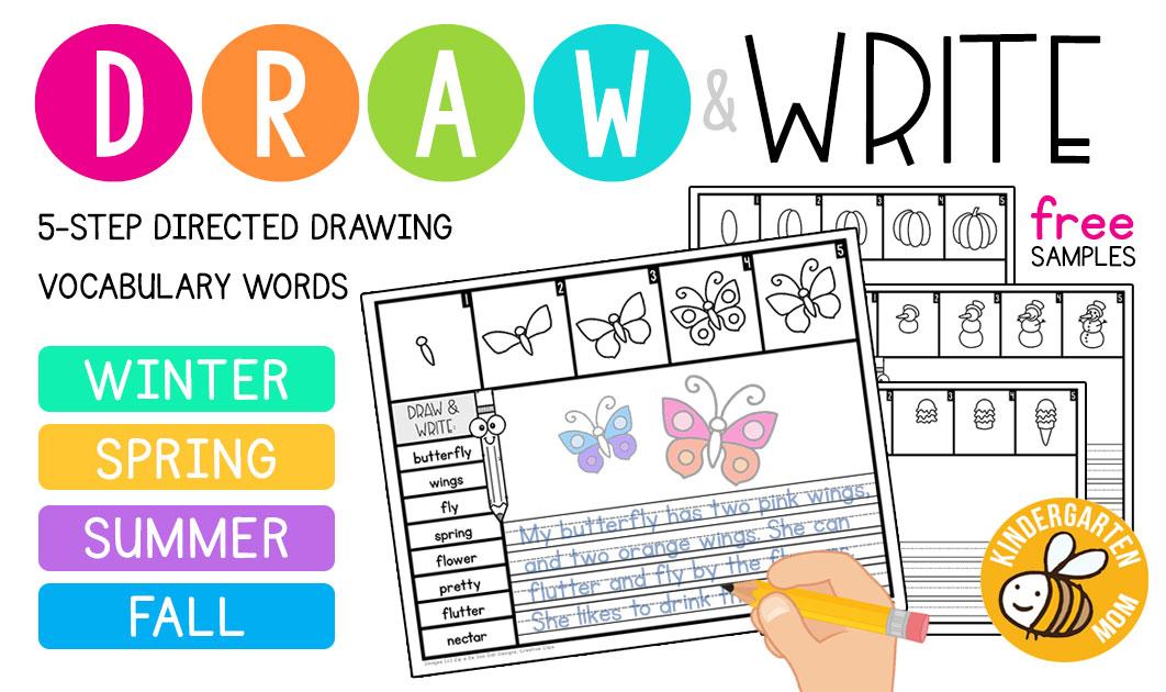 Kindergarten Writing Printables - Kindergarten Mom