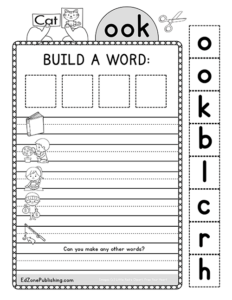 MakingWords-OOK - Kindergarten Mom