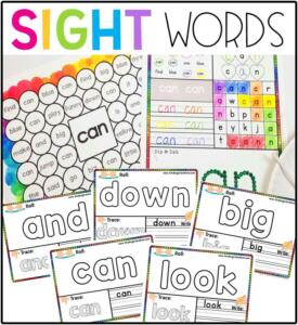 SightWordPrintables